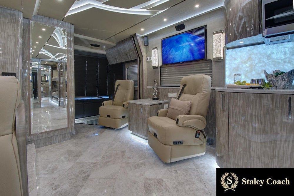 2019 Prevost Florida Coach X3double Slide 46311 Natural Stone