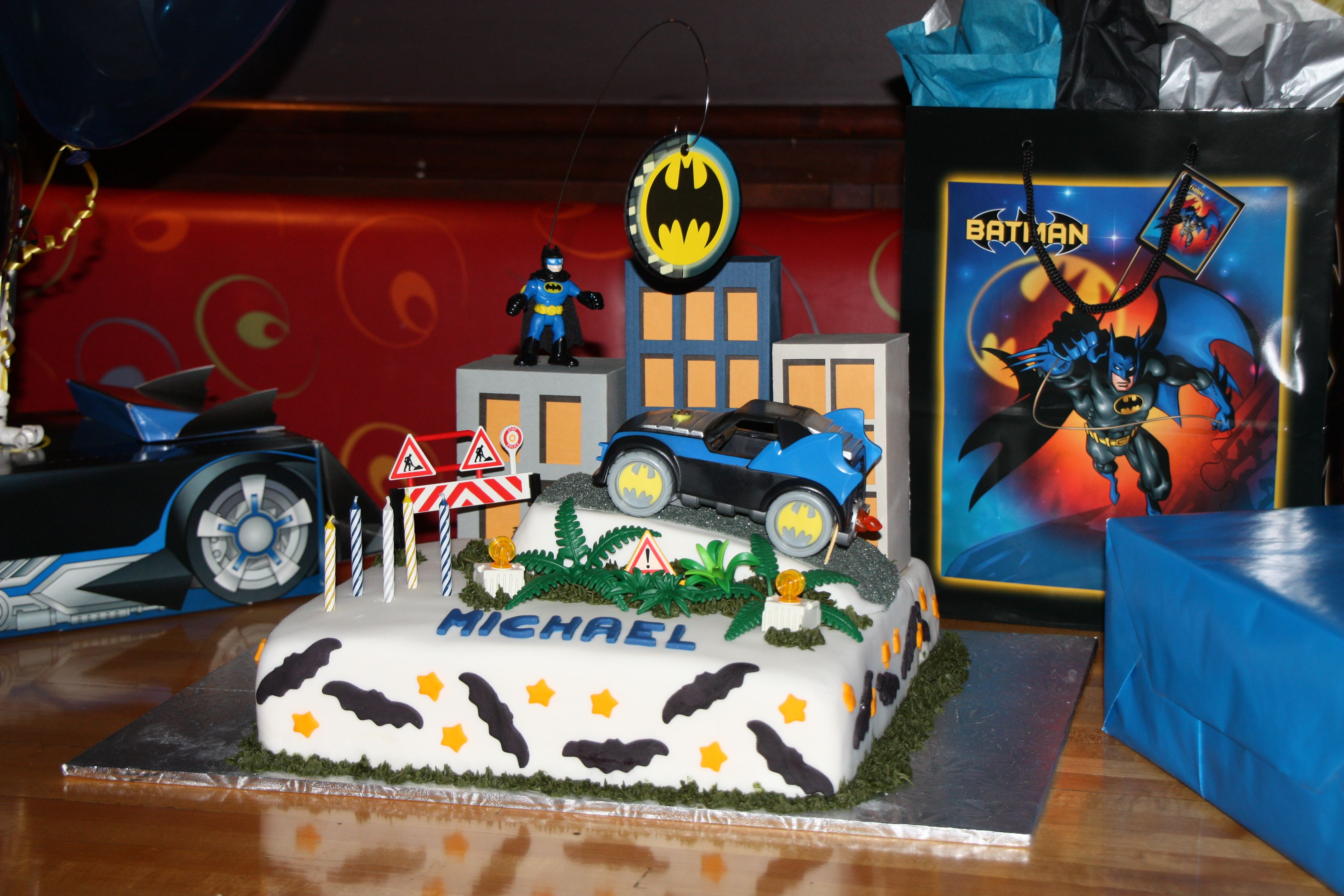 Birthday Cake For 5 Year Boy ~ Batman cake for a year old birthday boy this was my first