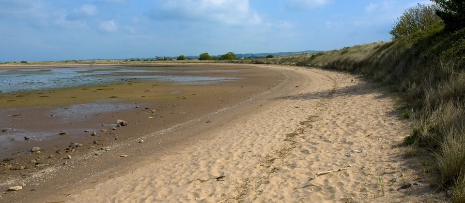 Backed by fluffy dunes and the Dawlish Warren Nature Reserve, Dawlish Warren Beach is a safe, stunning sandy beach. #dawlishwarren #beaches #devonbeaches #bluechipholidays