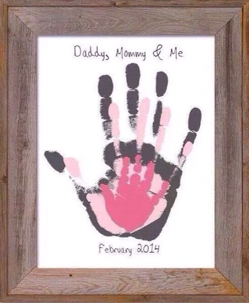 Photo of Daddy, Mommy & Me Wall Art ✋