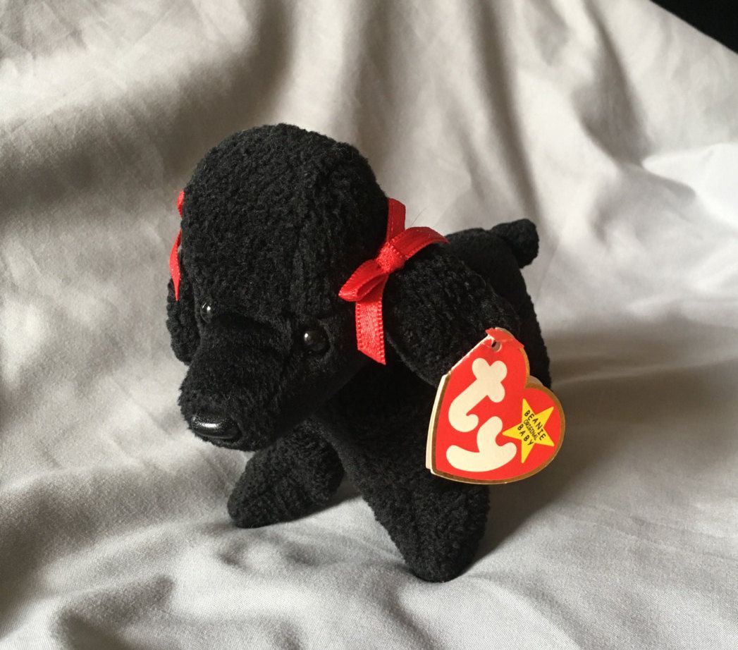 RARE TY Beanie Baby GiGi with 4 ERRORS by VintageCotten on Etsy ... 85f8a7af360