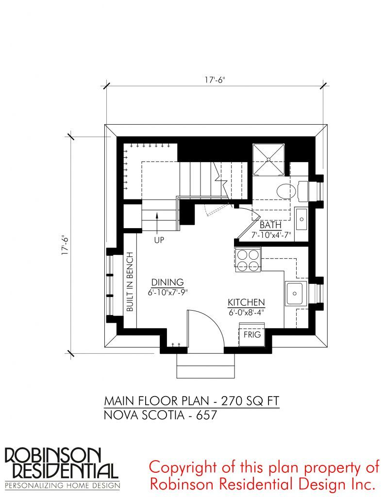 Nova Scotia 657 Robinson Plans Small House Floor Plans Small House Plans House Floor Plans