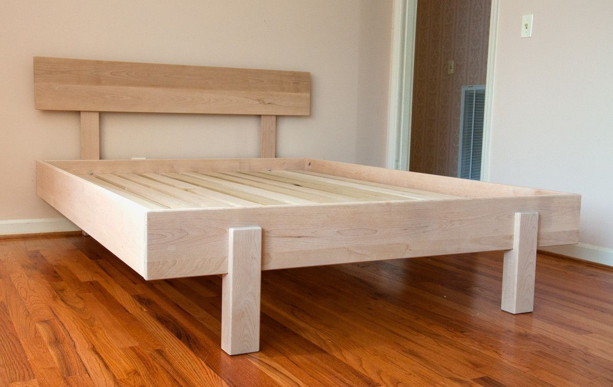 Kajaani Platform Bed Diy Bed Frame Pallet Furniture Platform Bed