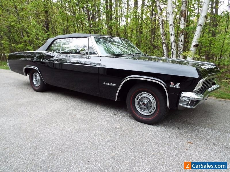 1965 Chevrolet Impala SS Convertible #chevrolet #impala #forsale ...