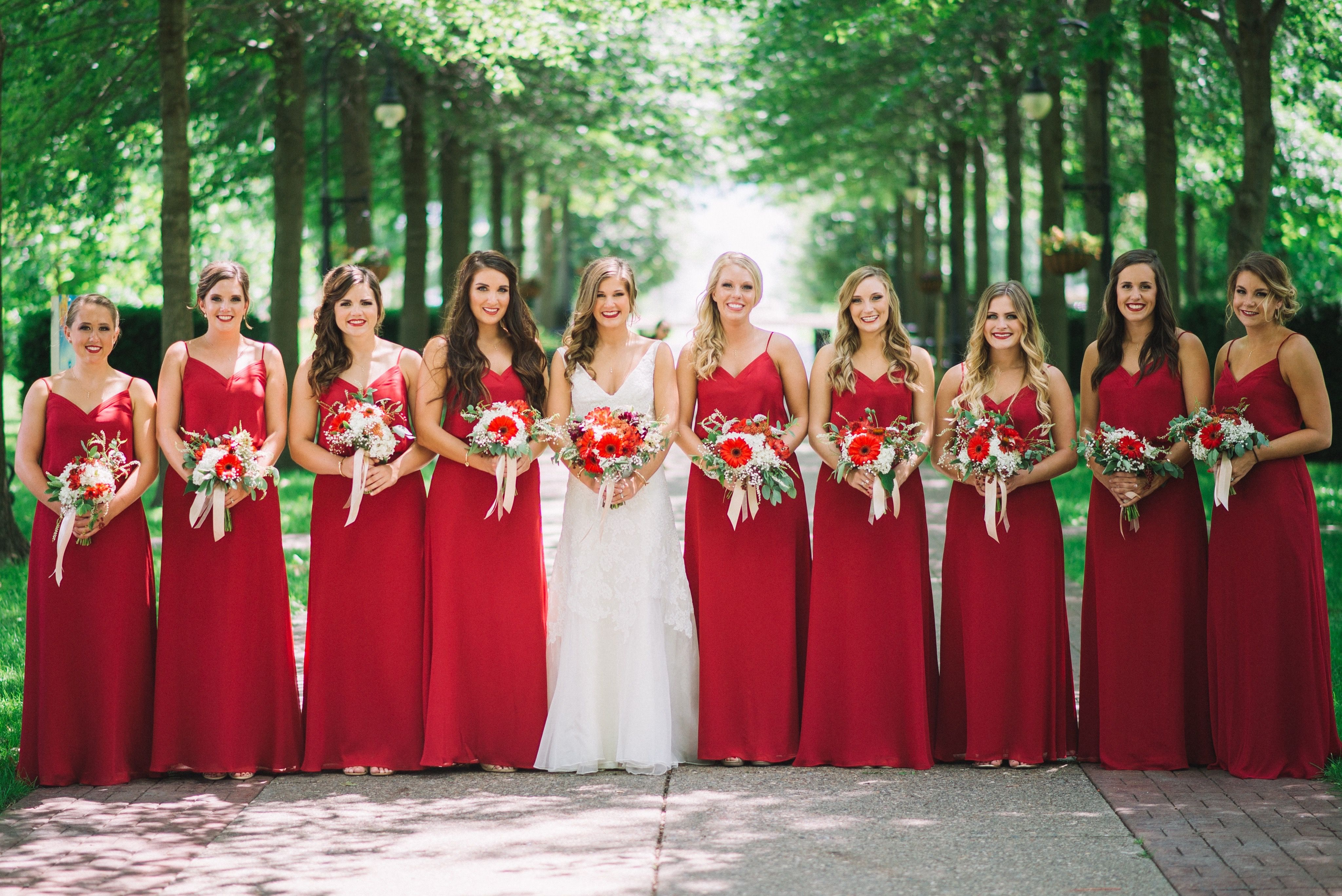 45++ Apple red color bridesmaid dresses trends