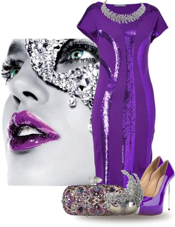 """""""Purple Magic"""" by cathy1965 on Polyvore  Oh my, I need this!!!"""