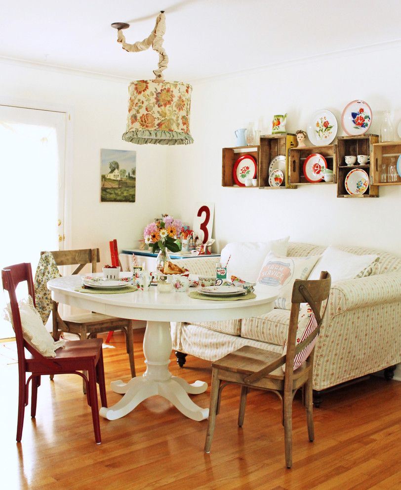Dining Room  Eclectic  Dining Room  Chicago  Cottage Industry Enchanting Shabby Chic Dining Room Decor Inspiration Design