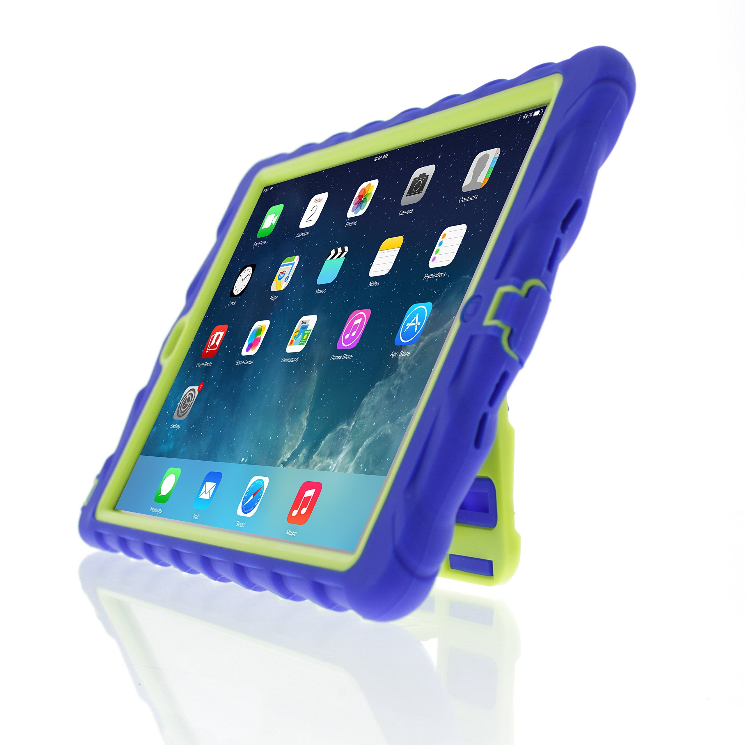 huge selection of 1232c 794f1 Gumdrop iPad Air Cases for Kids. Hideaway stand, built-in screen ...