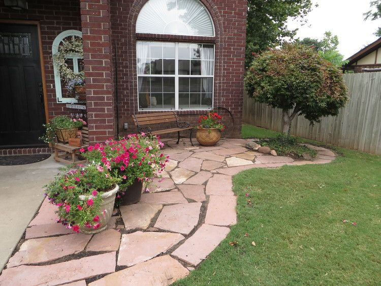Diy a flagstone paver patio this weekend we help you make