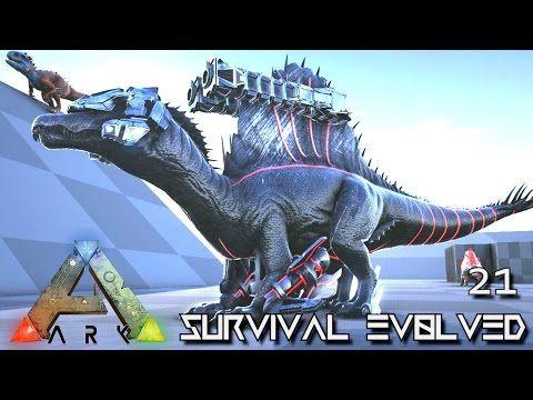 Nice ark survival evolved new tek spino iguanadon nice ark survival evolved new tek spino iguanadon leedsichthys tame malvernweather Images