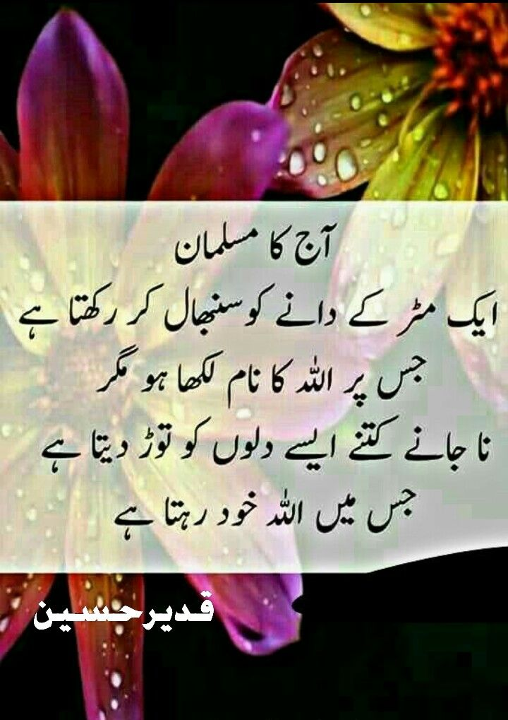 Pin by Iftikhar Amjad on urdu Islamic quotes, Poetry