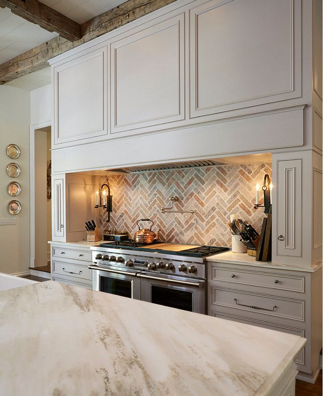 Brick Backsplash Kitchen Brick Backsplash Kitchen Features