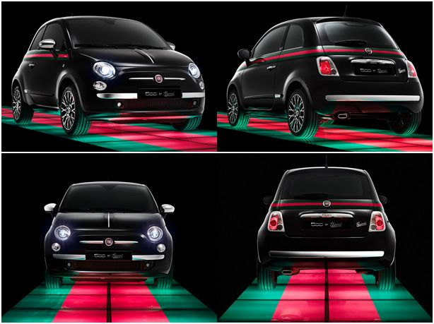 fiat 500 gucci edition love but white convertible please. Black Bedroom Furniture Sets. Home Design Ideas