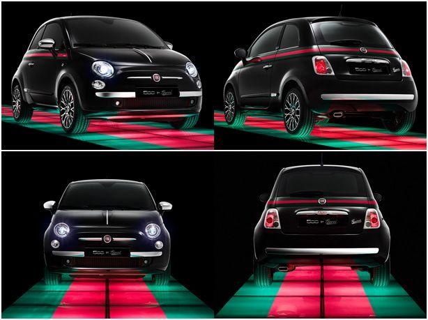 fiat 500 gucci edition love but white convertible please. Black Bedroom Furniture Sets. Home Design Ideas