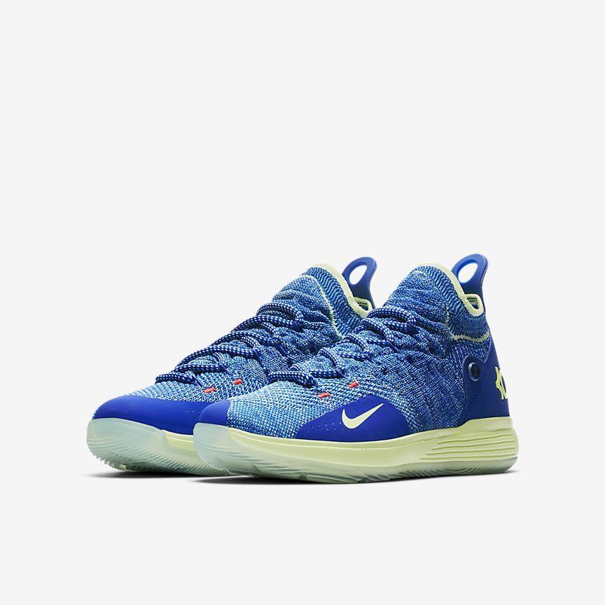 922ba0aac898 Nike Zoom KD11 Big Kids  Basketball Shoe Nike Id