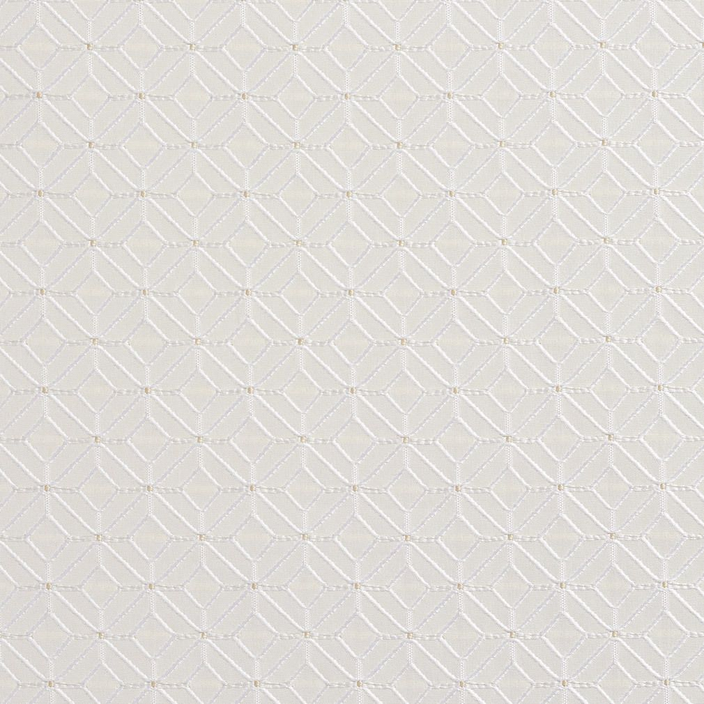 Pearl Geometric Small Scale Diamonds Upholstery Fabric By