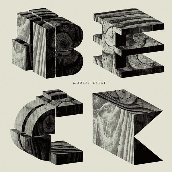 Beck - Typographic Concept - Album Art by Mario Hugo