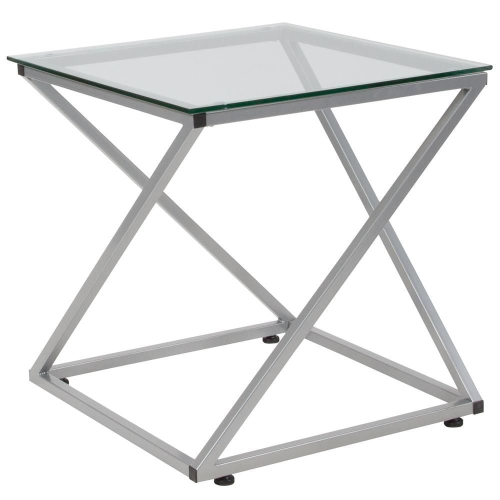 Carnegy avenue clearsilver coffee tablecganan215685cl