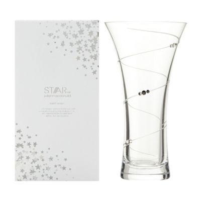 Star By Julien Macdonald Designer Glass Swarovski Gift Boxed Swirl