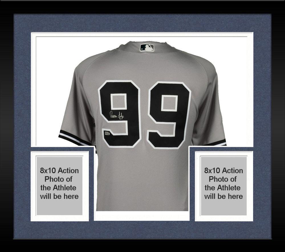 520ea0290 Autographed Aaron Judge Yankees Jersey Fanatics Authentic COA Item 7554380
