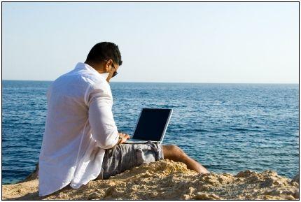 Work Wherever #RemoteWorking #Beach #holiday #Travel