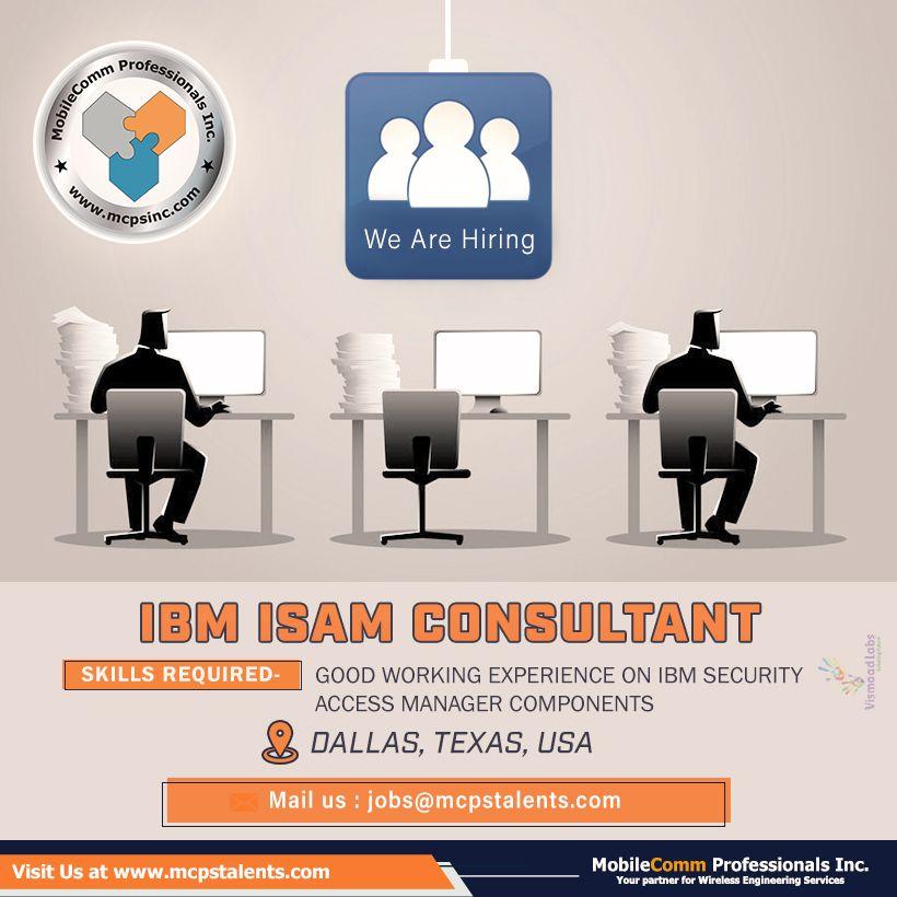 Ibm Isam Consultant Job Engineering Activities Business Analyst Engineering