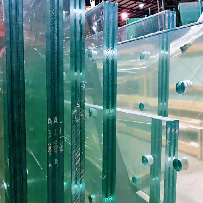 Customized Toughened Safety Architectural Tempered Glass For Building Laminated Glass Safety Glass Custom Glass