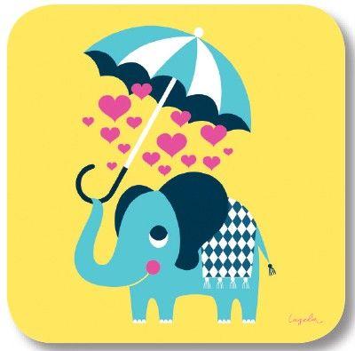 Onderzetter Elephant -Kokkie