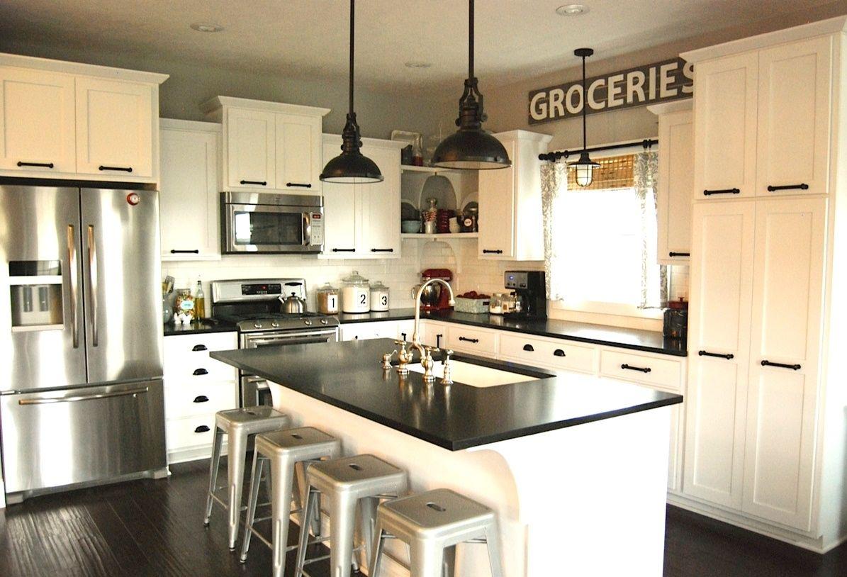 Mix It Up Rustic Modern Kitchen Design  Hayneedle Blog  Kitchen Custom Contemporary Kitchen Cabinets Decorating Inspiration