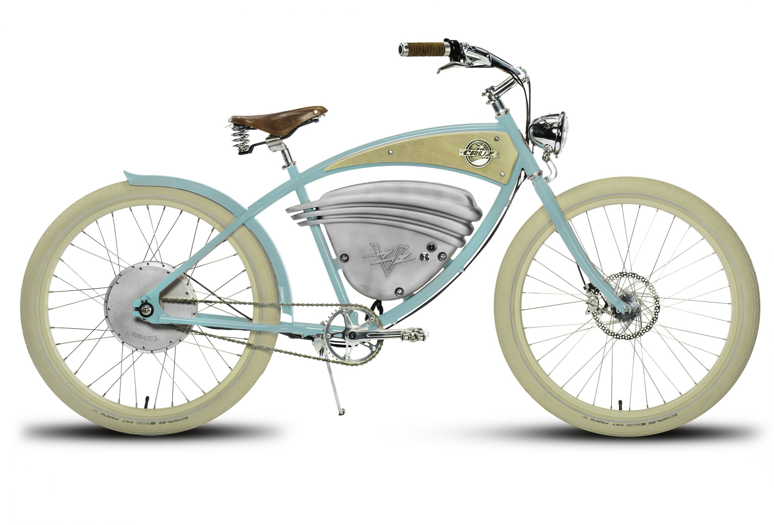Vintage Electric Cruz Ebike In Aqua Top Speed Of 36 Mph With A