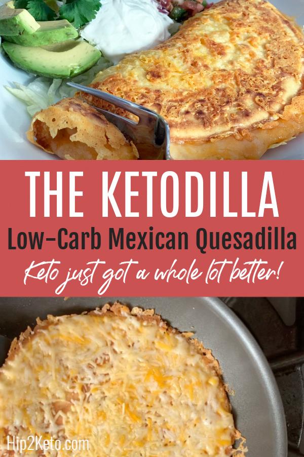 Introducing the Ketodilla—My Spin on a Traditional Favorite! #keto #ketodilla #mexican #quesadilla #...