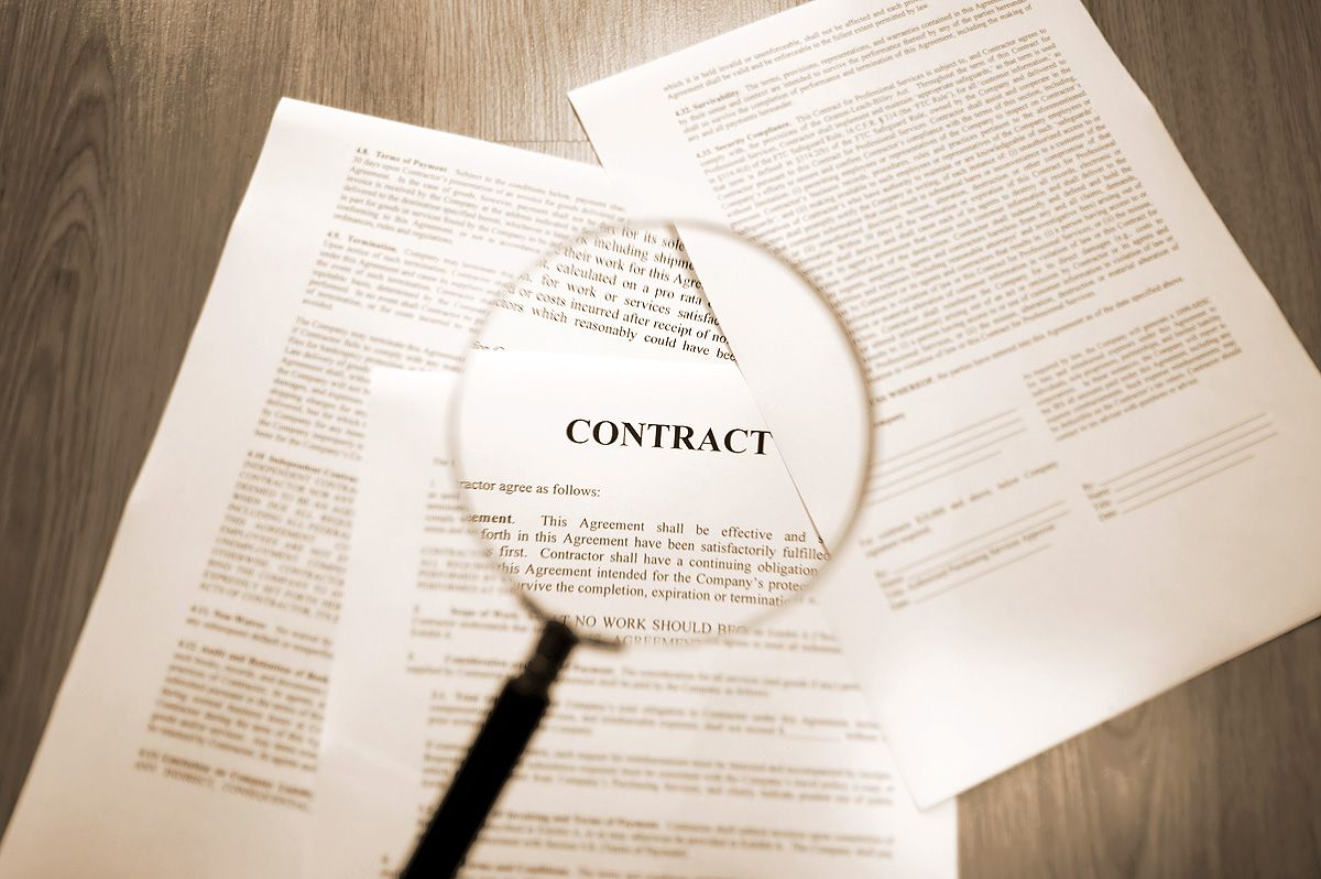 Assignment Of Contract And Double Closing Acceptance Letter Contract Negotiation