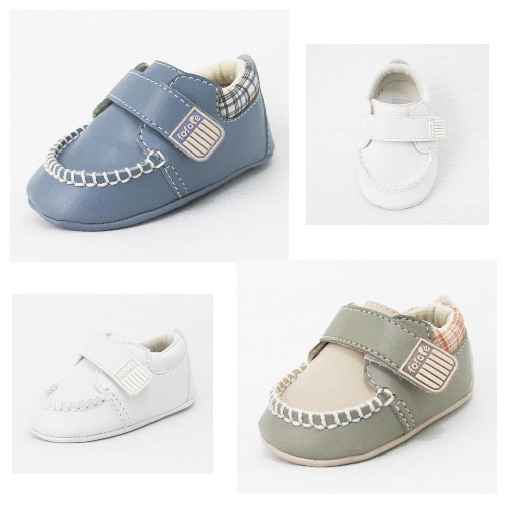 Mocassins de bebê menino Fofopé (1 ao 17). R$ 29,90 em nossa loja. http://www.pepilikaimports.com