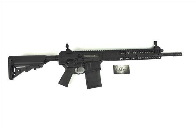 "1/3 non-refundable layaway. LWRC International R.E.P.R. 7.62 NATO 20Rd 16"" : Semi Auto Rifles at GunBroker.com"