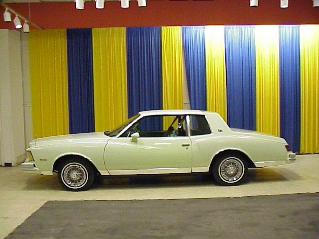 1979 Chevrolet Monte Carlo My First Car I Bought With Own White Baby Blue Interior