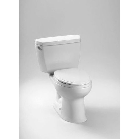 Colony Right Height Elongated 2 Piece Toilet With Right Hand Lever 12 Rough In 1 6 Gpf Toilet James Martin Furniture Elongated Toilet Seat