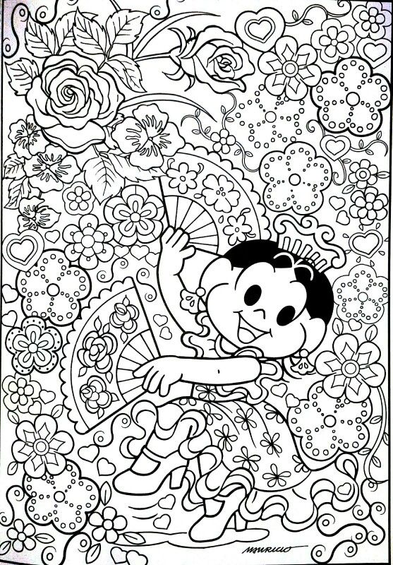 Turma Da Monica Turma Da Monica Colorir Desenhos Pra
