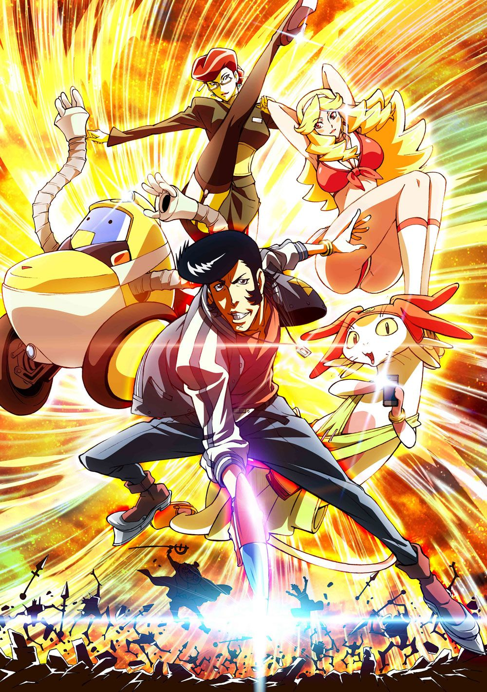 Space Dandy Key Visual Séries anime, Dandy, Anime