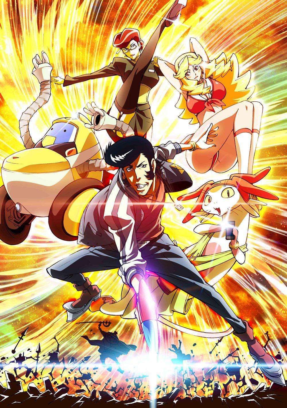 Space Dandy Key Visual Séries anime, Dandy, Anime