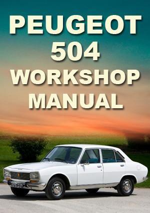 peugeot 504 workshop manual peugeot car manuals direct rh pinterest com Peugeot 405 Peugeot 404