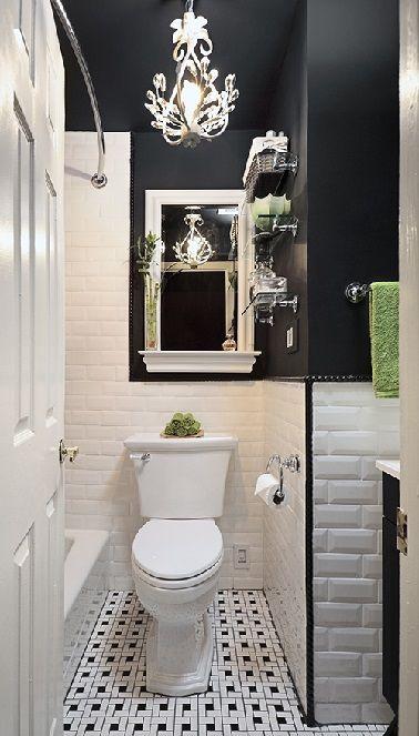 Des WC noir une couleur déco pour les toilettes | 1- INTERIOR DESIGN ...