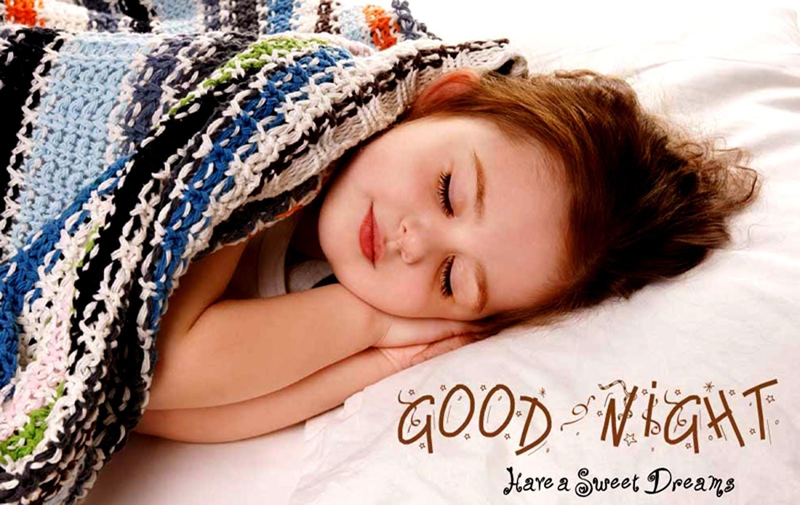 Cute Good Night Girl Sleeping Inspirational Good Night Quotes And