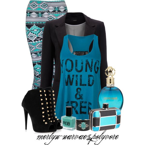 """""""Untitled #226"""" by merlyn-narvaez on Polyvore"""