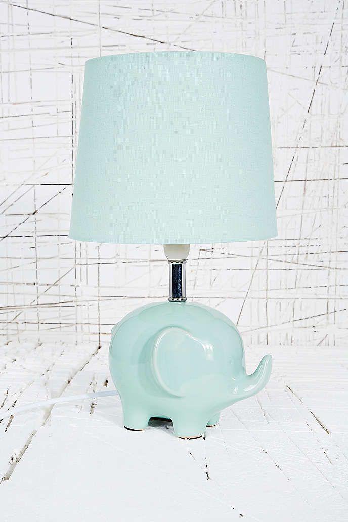 shade nursery lamp white base at company elephant novelty bronze baby