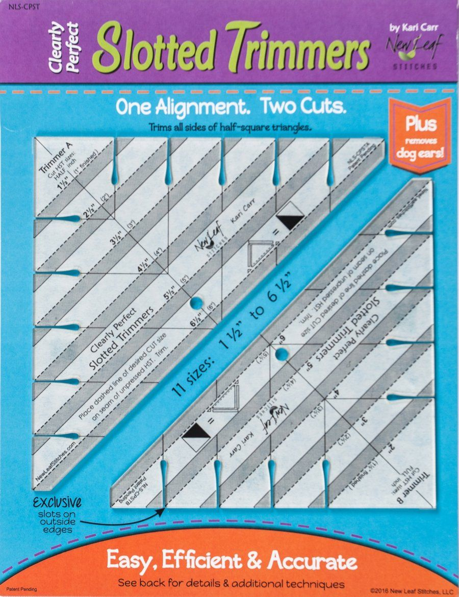 This Product Is A Game Changer Two Rulers Designed To Speed Up Your Half Square Triangle Production U Half Square Triangles Quilting Tools Quilting Templates