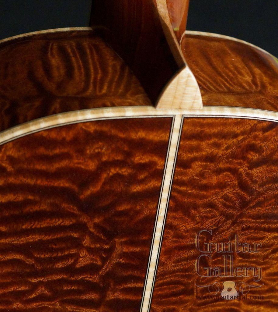 McCollum D Sapele Guitar-SOLD