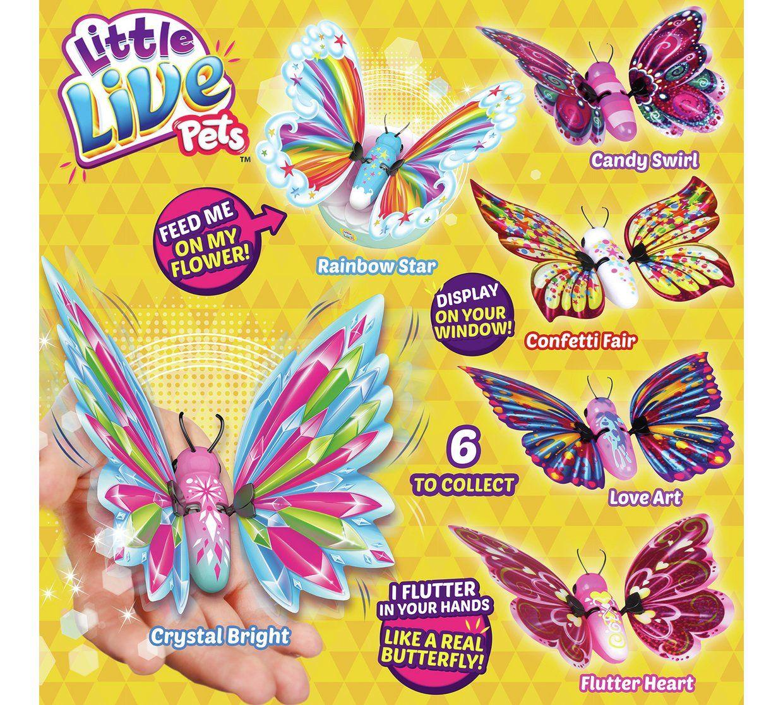 Buy Little Live Pets Flutter Wings Butterflies Playsets And Figures Argos Little Live Pets Disney Princess Pets Pets