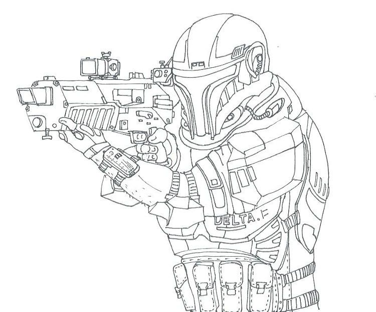 Star Wars Republic Commando Coloring Pages In 2020 Birthday Coloring Pages Coloring Pages For Kids Coloring Pages