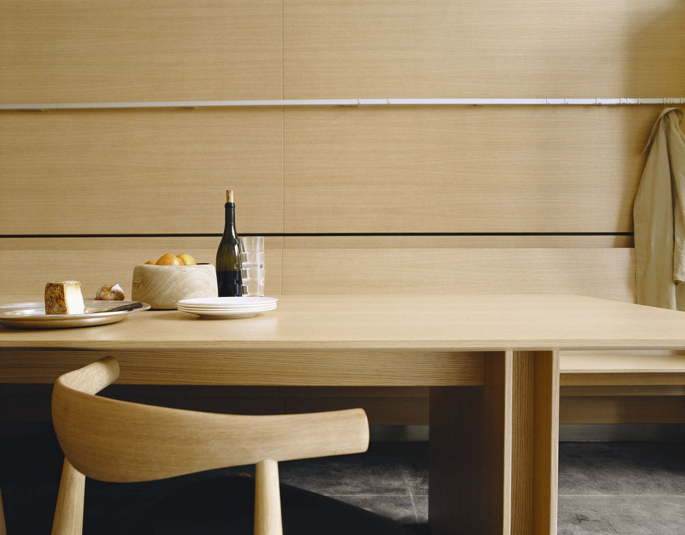 Bulthaup C3 Table In Oak Finish