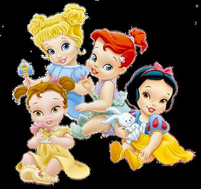 Disney Babies Clip Art   Disney Baby Princesses - Clip Art On Line ...